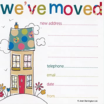jean barrington weve moved cards amazon co uk office products
