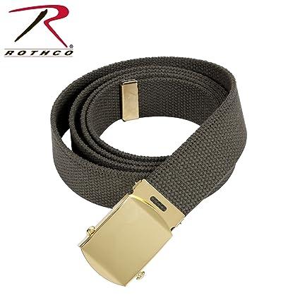 "Navy Blue Rothco 54/"" Military Web Belts 3-Pack Khaki Black"