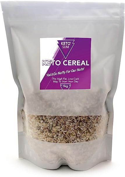 Keto Cereal Desayuno Bajo en Carbohidratos Sin Azúcar Añadido ...