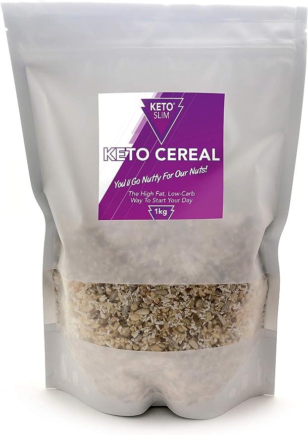 Keto Cereal Desayuno Bajo en Carbohidratos Sin Azúcar ...