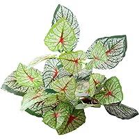 Topke Planta Artificial follaje Falsas Fake Leaf Bouquet,Lifelike
