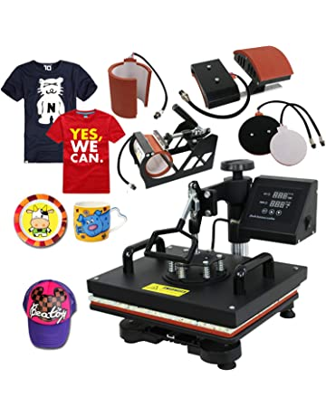 Super Deal PRO 5 in 1 Heat Press Machine Multifunction Sublimation T Shirt  Press Machine Hat b448302370c