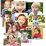 Toddler Time Multicultural Kids Posters for Classroom Decoration, Preschool Bulletin Boards & Circle Time -10 Large Picture Cards
