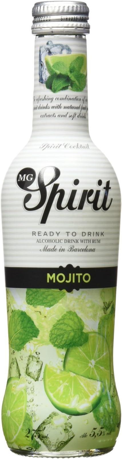 M.G. Spirit - Mojito - Bebida Alcohólica con Ron -275 ml ...