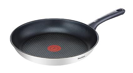 Tefal Daily Cook - Sartén de 20 cm, antiadherente de acero inoxidable, para todo tipo de cocinas incluido inducción