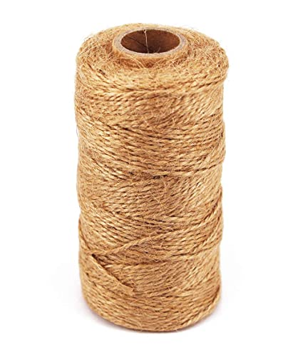4 Ply Natural Jute Twine Arts Crafts Jute Rope Heavy Duty Packing String