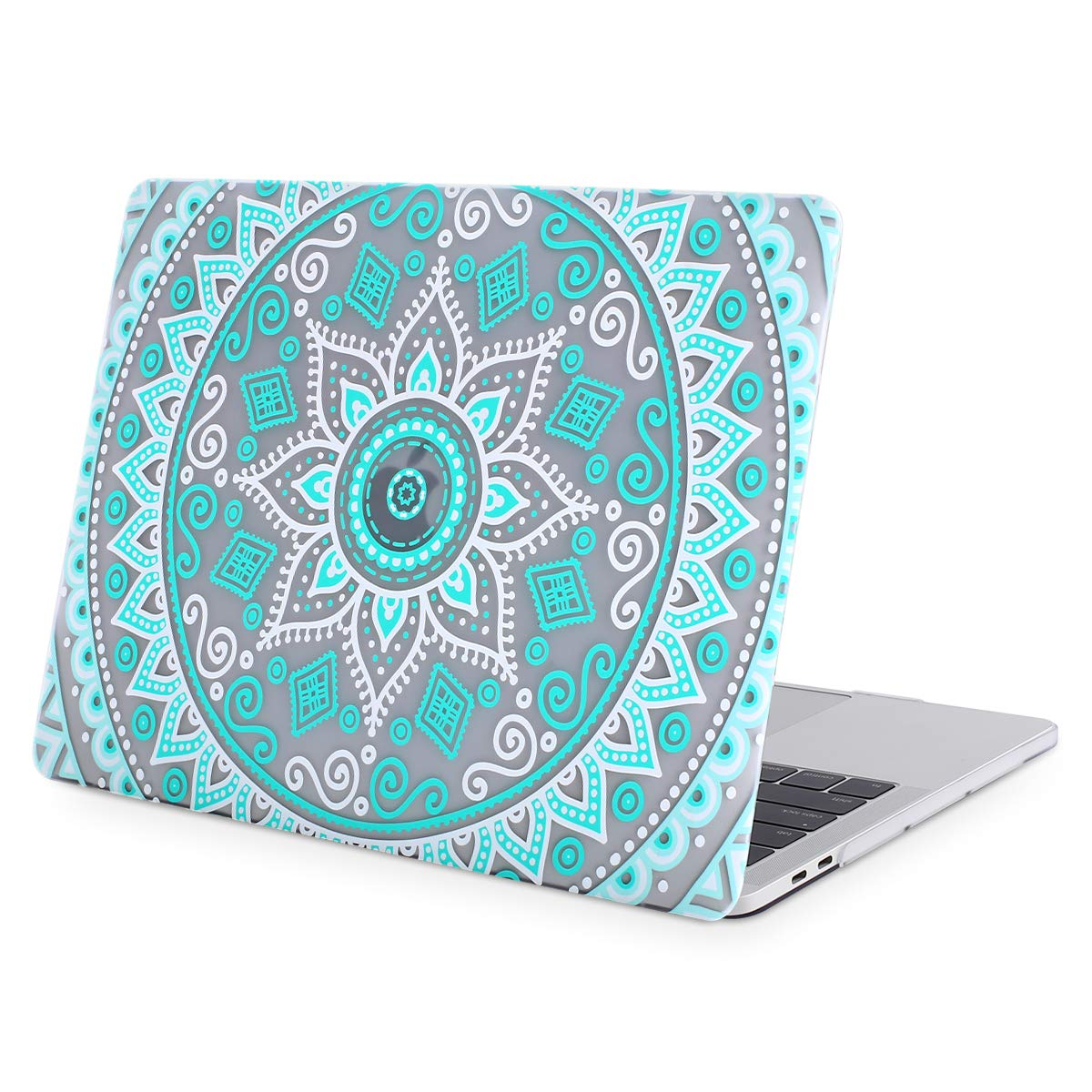 Rose Leaves Plastic Pattern Hard Case Shell Cover Compatible Newly Mac Pro 13 Inch with//Without Touch Bar MOSISO MacBook Pro 13 Case 2019 2018 2017 2016 Release A2159 A1989 A1706 A1708