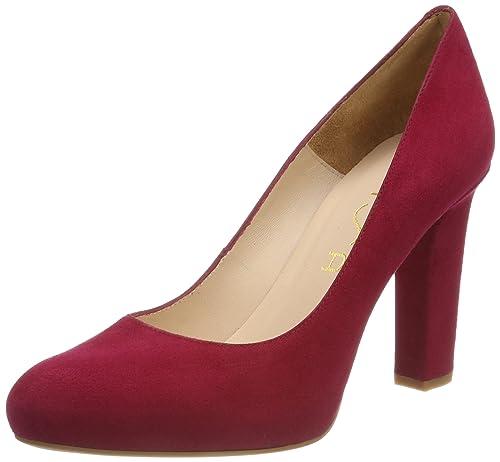 Unisa Numar_18_KS, Zapatos de Tacón para Mujer, Rojo (Red), 36 EU