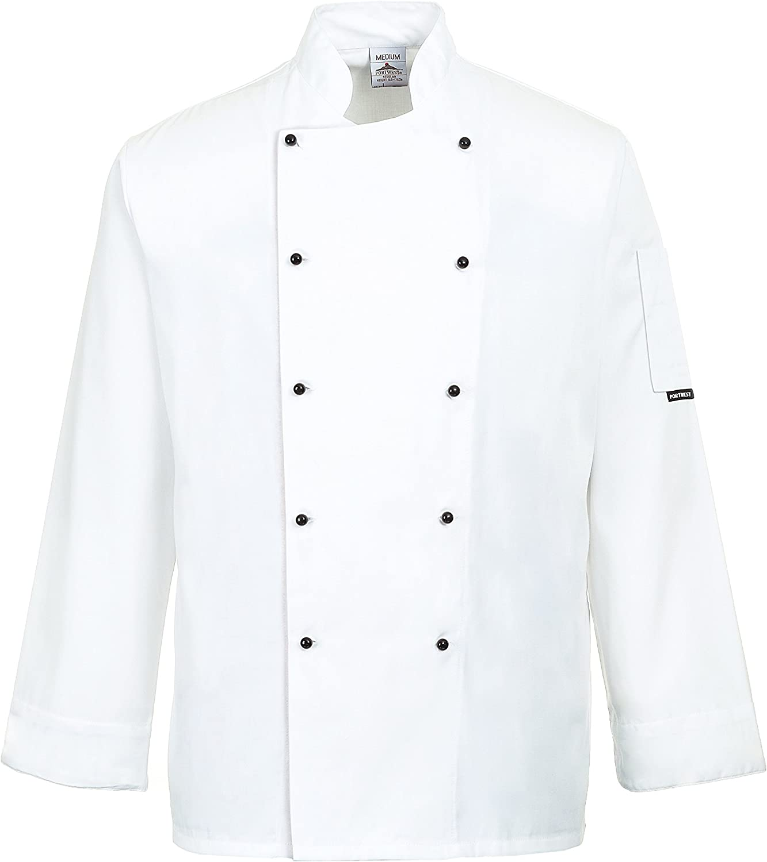3 XL blanc Portwest C834 Somerset Veste de cuisine