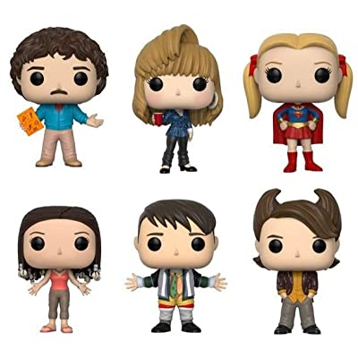 """Funko Pop! Television: Friends Series 2 Collectible Vinyl Figures, 3.75"""" (Set of 6): Toys & Games"""