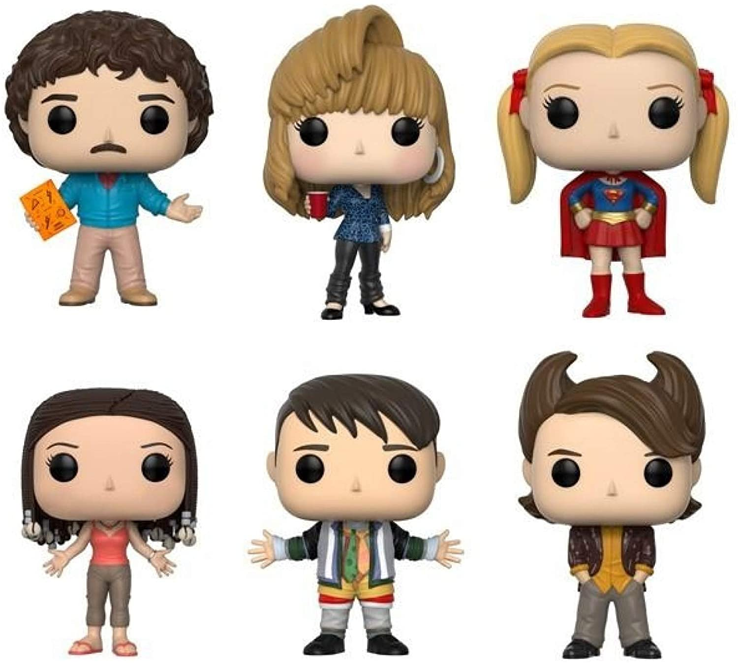 "Funko Pop! Television: Friends Series 2 Collectible Vinyl Figures, 3.75"" (Set of 6)"