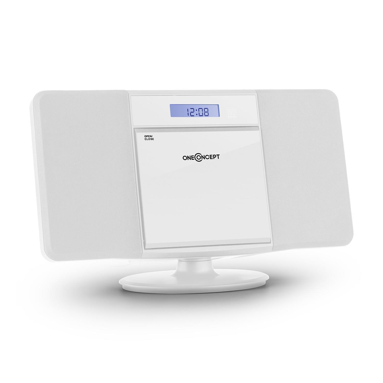 oneConcept V • Equipo estéreo • Minicadena • Reproductor de CD con