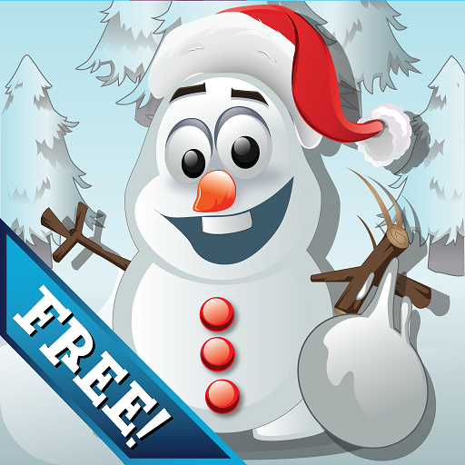 Frozen Snowman Knockdown
