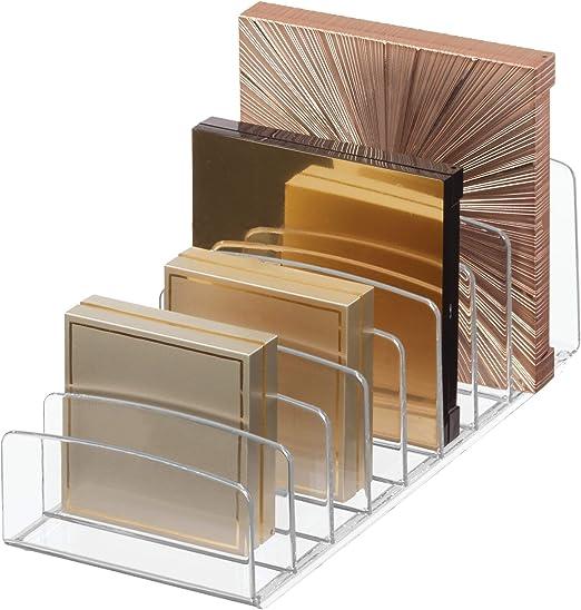 Amazon Com Idesign Clarity Vertical Plastic Palette Organizer For
