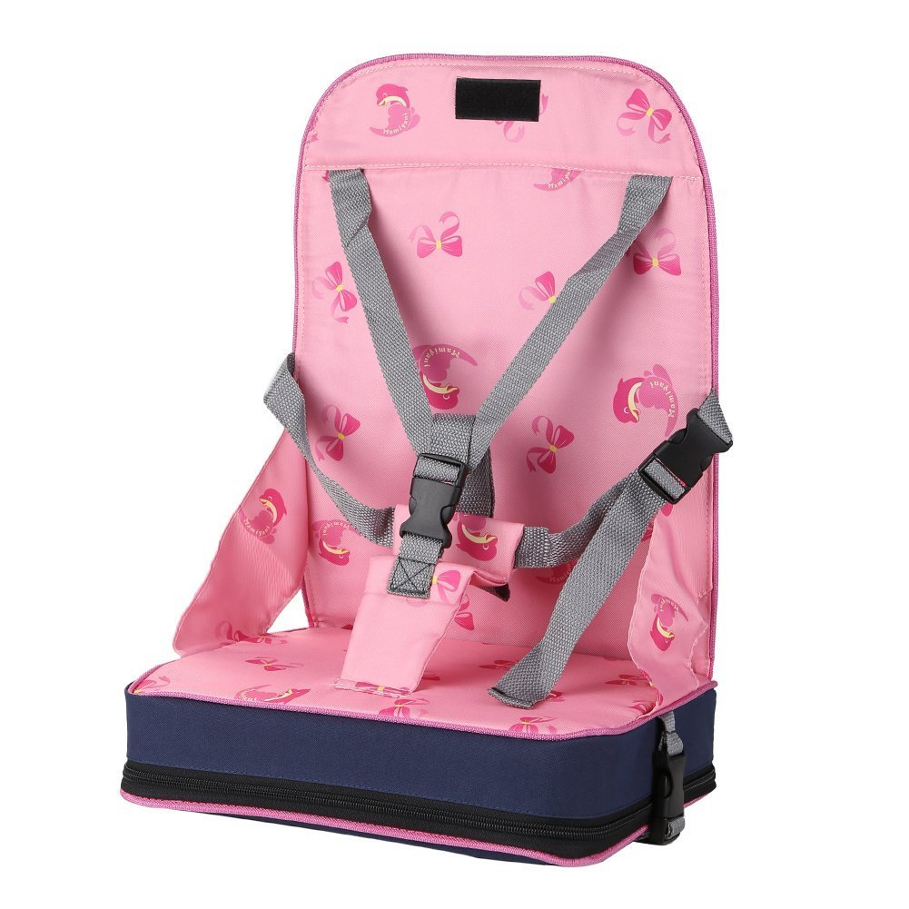GudeHome Tragbar Boostersitze Faltbare Säugling Sitzerhöhungen Einstellbar Baby-Booster Kinder Reisesitz Gude Trading Co. Ltd C160809ZD00103