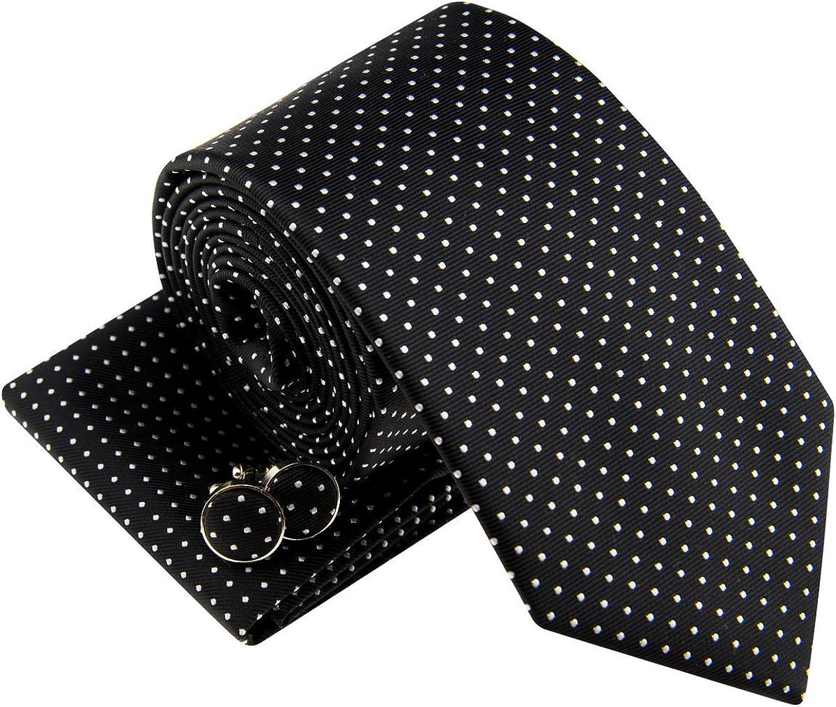 Various Colors 8-10 years Retreez Modern Mini Polka Dots Woven Boys Tie