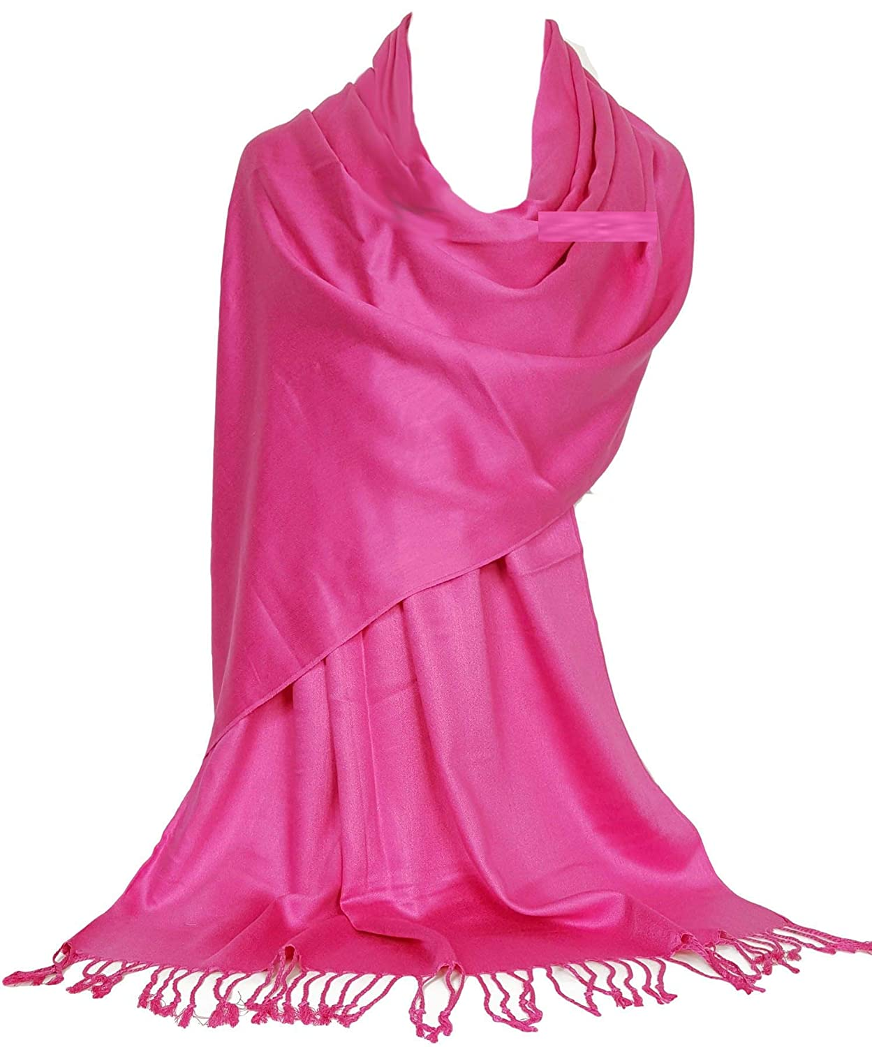 GFM® Ultra Smooth Cashmere Feel Soft Pashmina Style Wrap Scarf (L9)