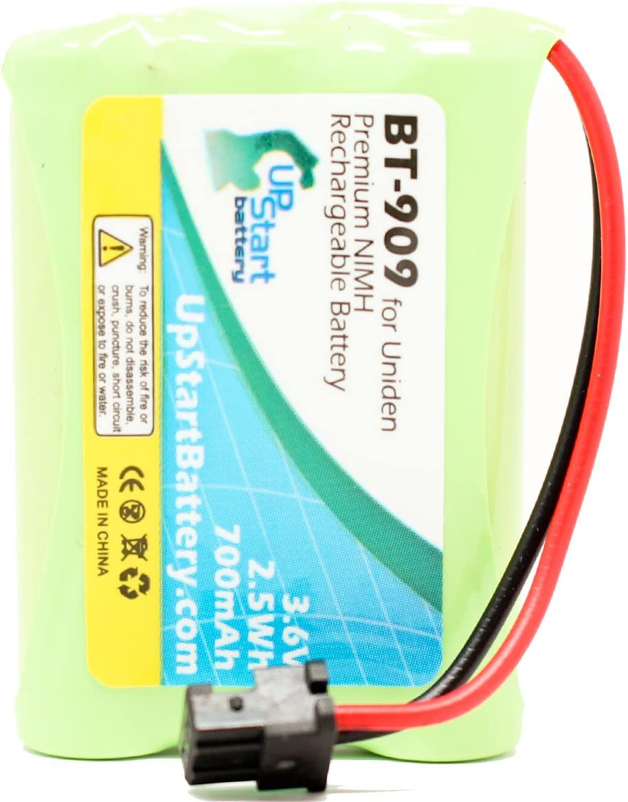 700mAh 3.6V NI-MH Compatible with Uniden Cordless Phone Battery 3 Pack Replacement for Uniden TCX-905 Battery