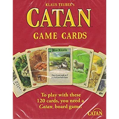 Catan Accessory: Base Game Cards: Toys & Games