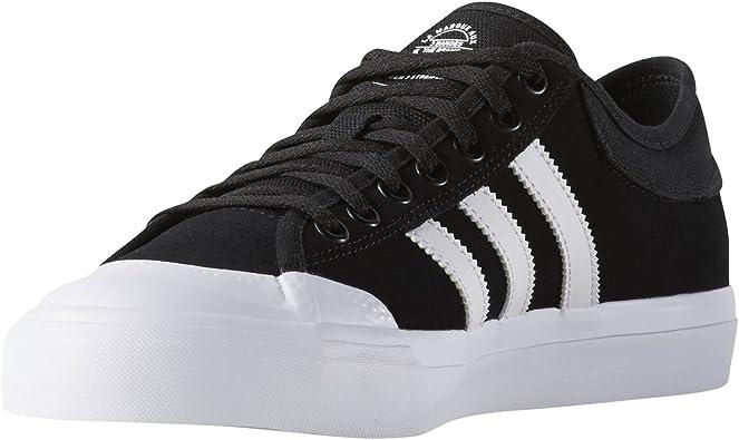 Amazon.com | adidas Matchcourt Skate Sneakers ADV Black/White ...