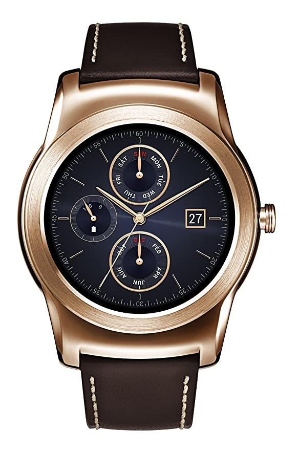 Amazon.com: LG Watch Urbane Wearable Smart Watch - Pink Gold ...
