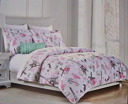 Amazon Cynthia Rowley Paris Eiffel Tower 40 Piece TWIN SIZE Inspiration Cynthia Rowley Decorative Pillows