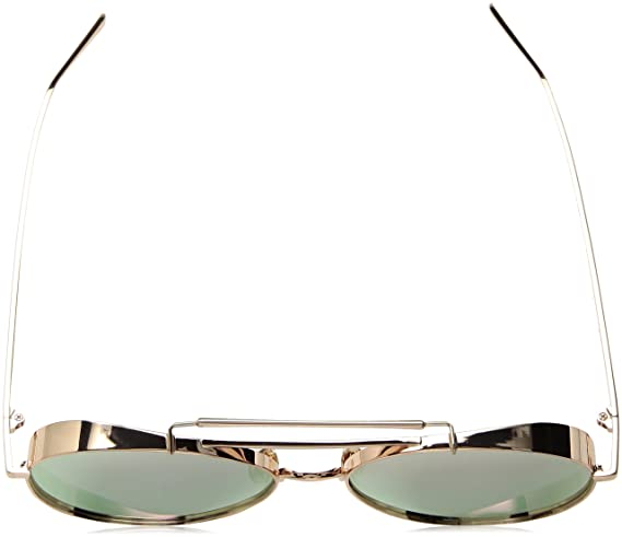 b0a066107983 Amazon.com  THOMAS JAMES LA by PERVERSE Sunglasses Unisex Solid Rose Gold  Ballerina Rose Gold Metal Rose Gold Mirrored One Size  Perverse  Clothing