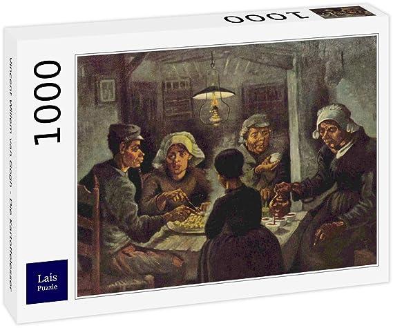 Lais Puzzle Vincent Willem Van Gogh - Los comedores de Patatas 1000 ...