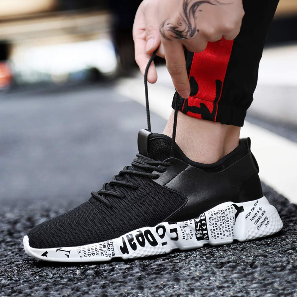 4ba7ee7cc4 Amazon.com: Women's & Men Sneakers Mesh Outdoor Sport Walking Running Shoes  Breathable Lightweight Athletic: Clothing