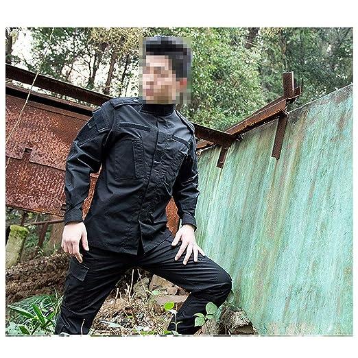 GRZP Traje táctico Negro, Entusiasta de los Hombres de la Moda ...