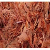 Over 35 Different Solid Color Boas by Cozy Glamour 6 Feet Long 50 Gram Weight (Burnt Orange #92)