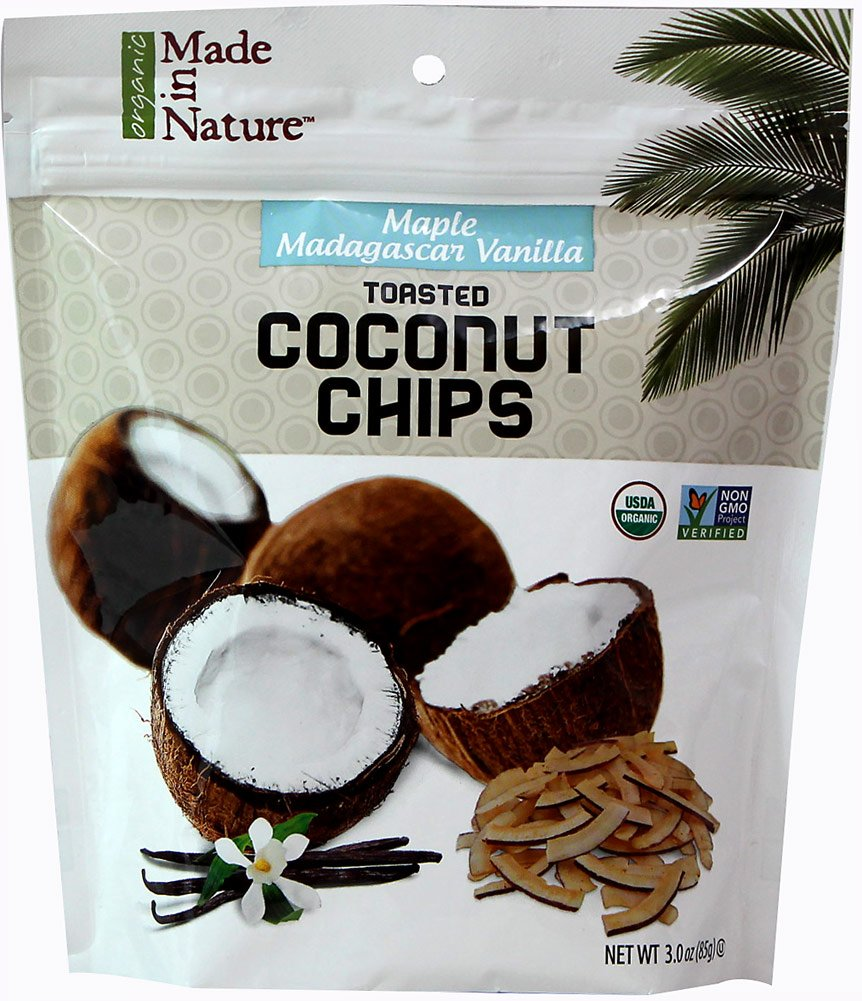 Made In Nature Coconut Chp Tstd Mpl Vnll 3 Oz