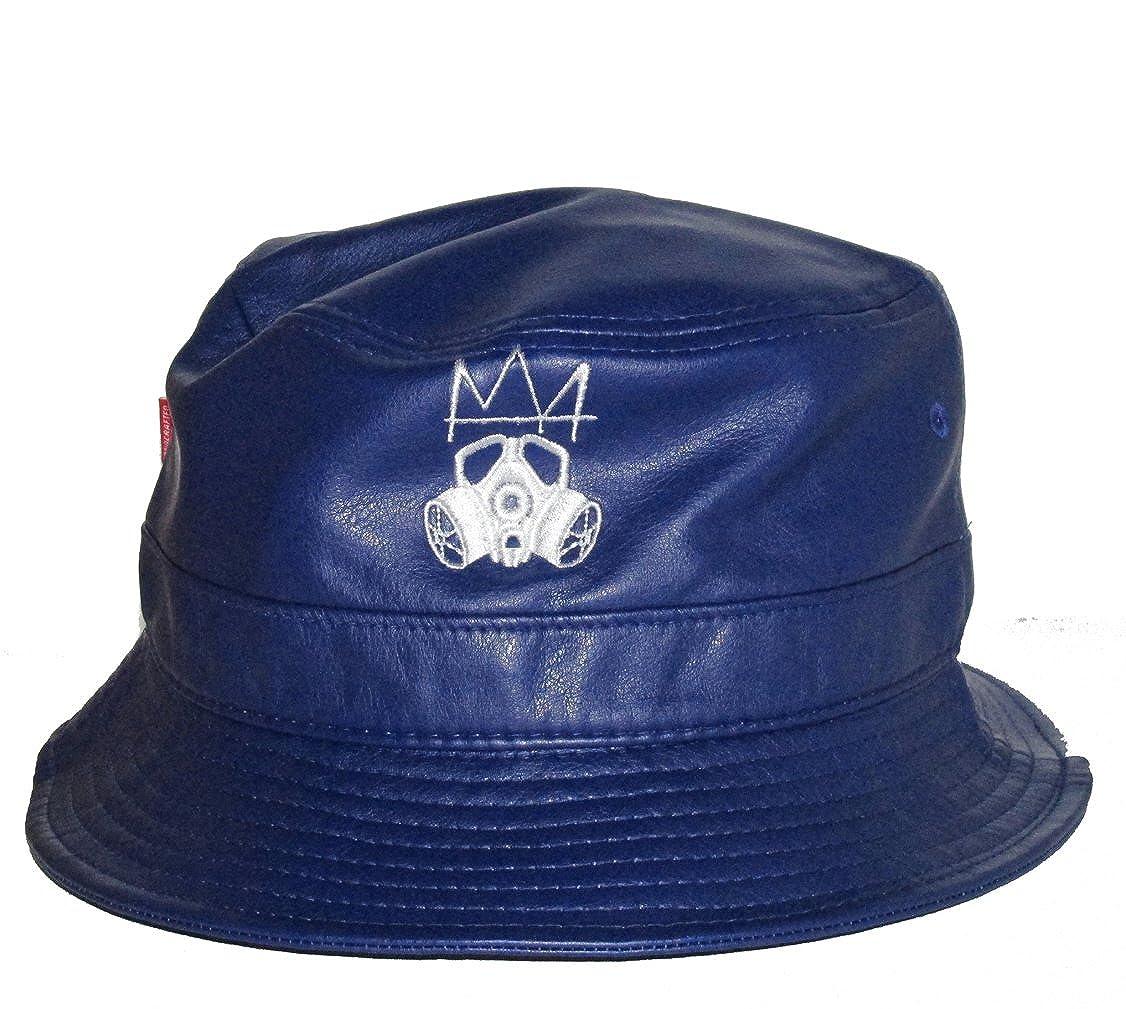 RobsTees Subvers Clothing CO Dallas Life Custom PU Leather Bucket Hat Street Wear Cap