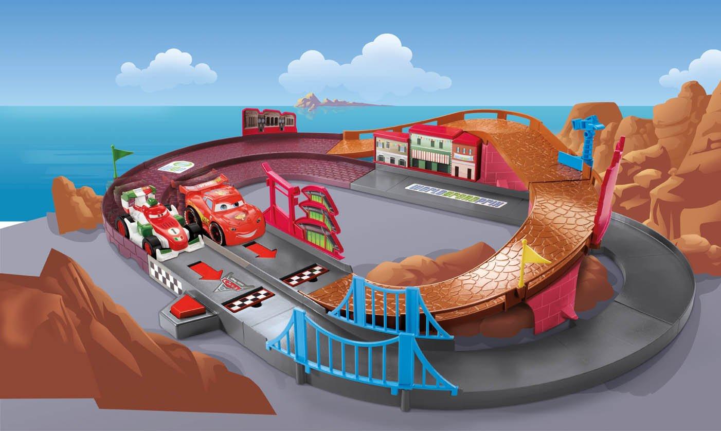 Fisher price shake n go disney pixar cars 2 raceway playset amazon co uk toys games
