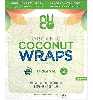 Raw Wraps Spinach- Gluten & Soy Free, Vegan & Raw, Paleo ...