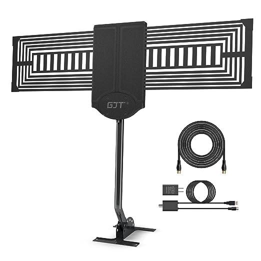 Review GJT Outdoor TV Antenna