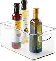 InterDesign Bandeja para Cocina, 25.4 X 15.2 X 12.7 cm, Transparente