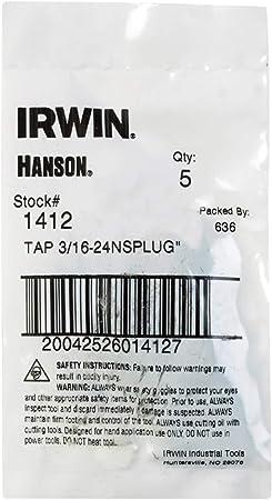 Irwin Tools 2756-3 Piece Set 2.00 Tap 16 mm