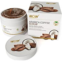 WOW Arabica Coffee Oil Scrub, 200ml