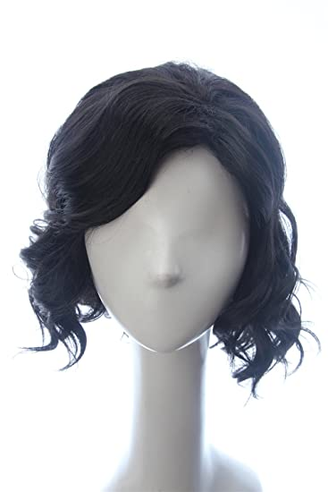 wigs short cosplay Black hair