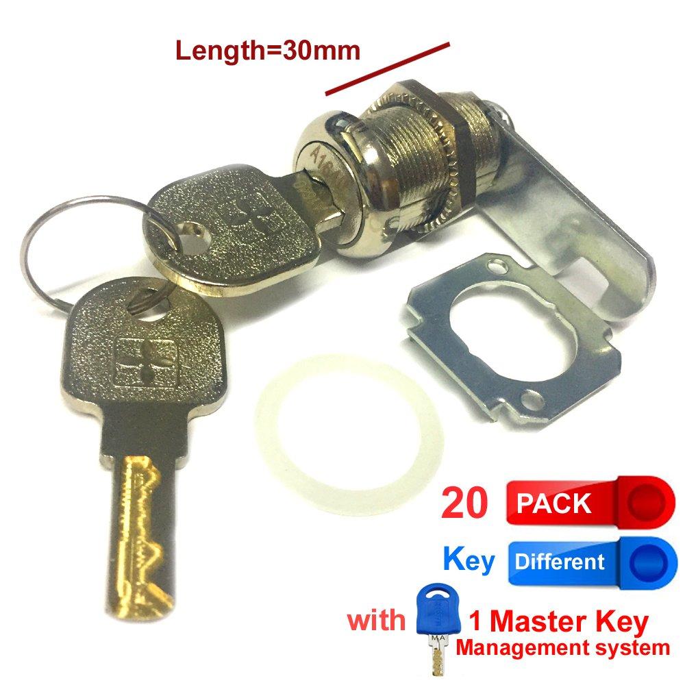 Rarelock - Cerradura de armario con llaves planas para ...