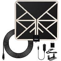 Xidomi TV Antenna HD Antennas Indoor Digital Amplified (Black)
