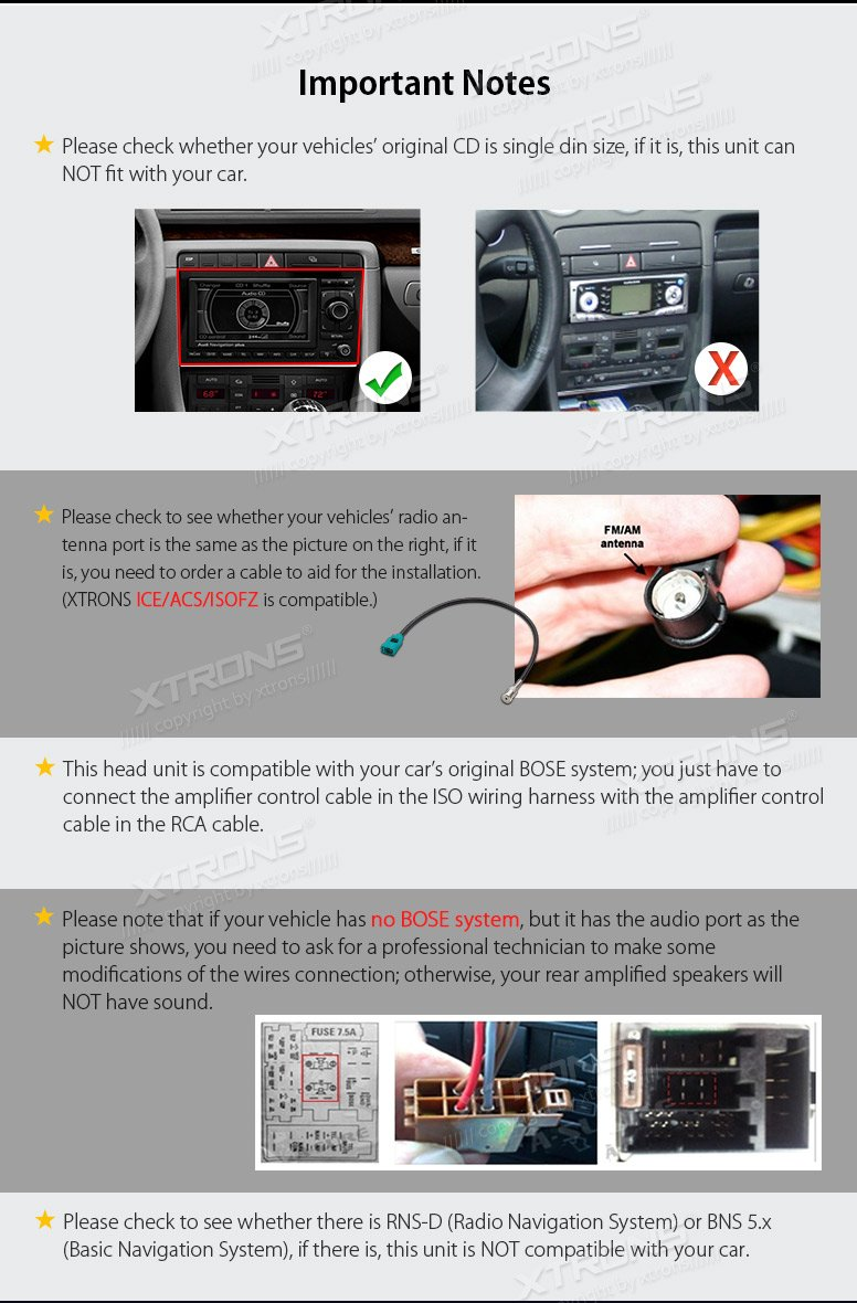 Manual Bns5 Toyota Prius 2004 Onwards Car Radio Wire Harness Wiring Iso Lead Array Amazon Com Xtrons 7 Android 8 0 Octa Core 4g Ram 32g Rom Hd