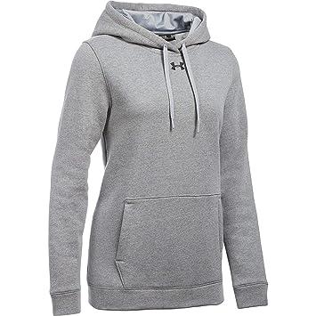 5a235085b Under Armour Women's UA Hustle Fleece Hoodie (Large, 025Truegrey)