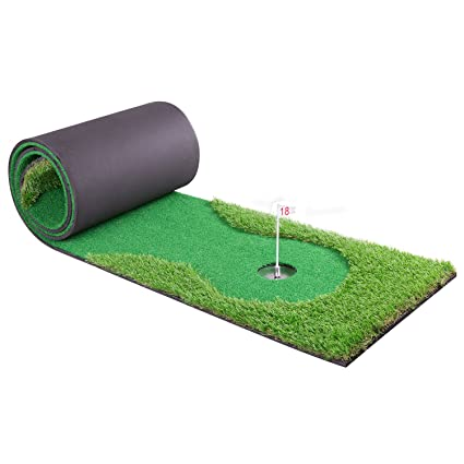 Amazon.com : Indoor Golf Training Mat Putting Green System ...