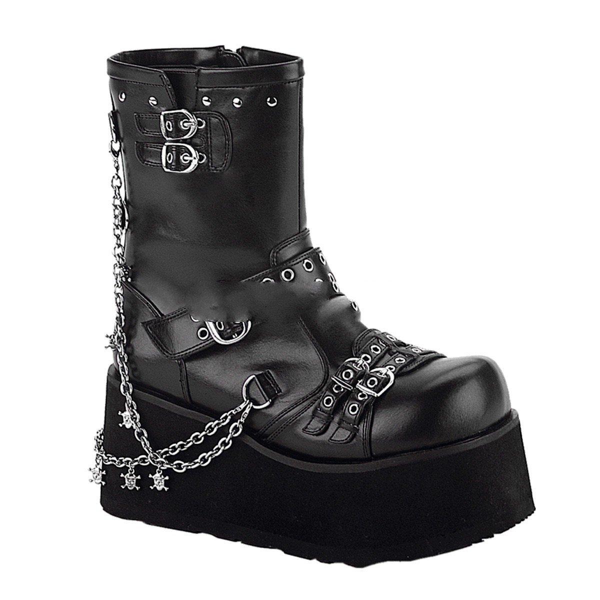 Demonia Clash-430 - Gothic Gothic Gothic Punk Industrial Plateau Stiefel 36-43, Größe EU-39   US-9   UK-6 3bd339