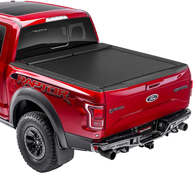 Roll-N-Lock BT122A Locking Retractable A-Series Truck Tonneau Cover for/ 2019 Ford Ranger w//61 Bed