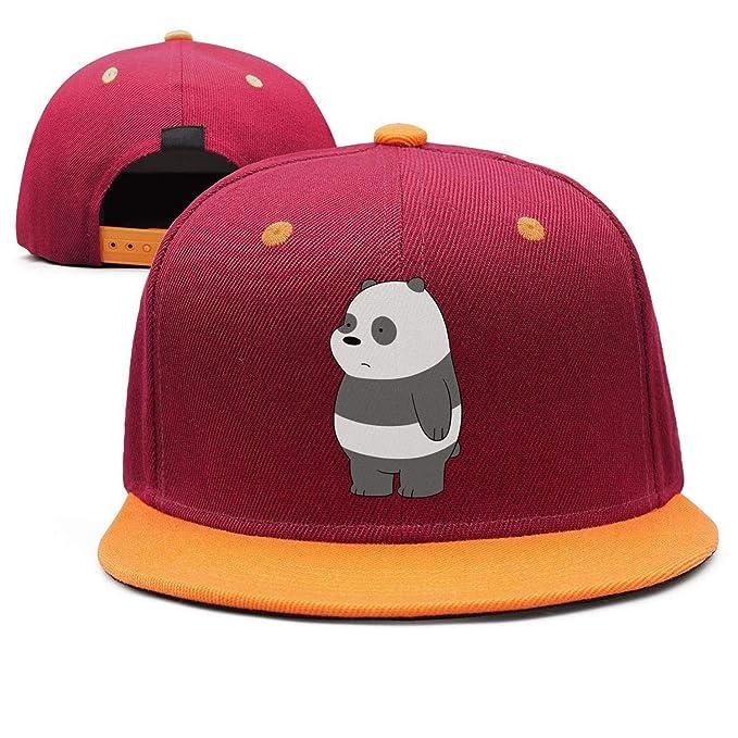 Man Cartoon-We-Bare-Bears-Panda- Snapback hat Trucker Hats Sports ... 19050b31d5a8