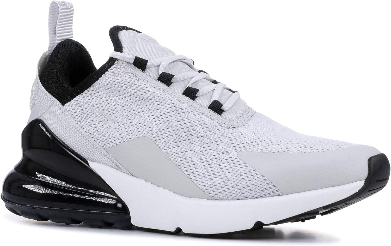 Chaussures de Sport Hommes et Femmes Chaussures de Course de Rue Chaussures de Sport en Plein air Fitness Sport Chaussures de Marche Respirantes légères Gris Noir