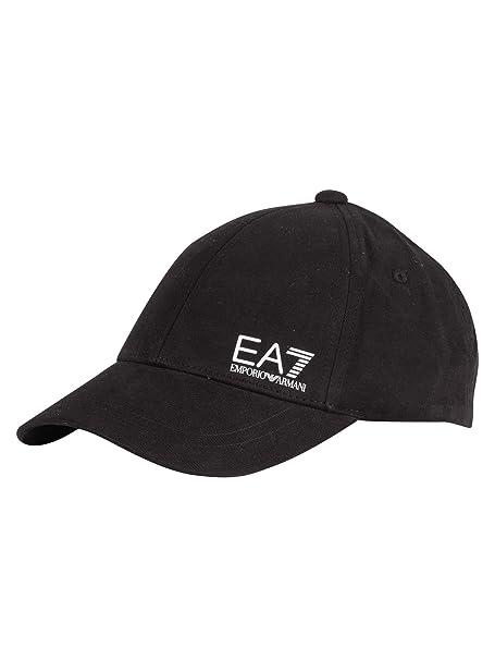 6ec1e7c5 EA7 Men's Train Core Baseball Cap, Black, One Size: Emporio Armani ...